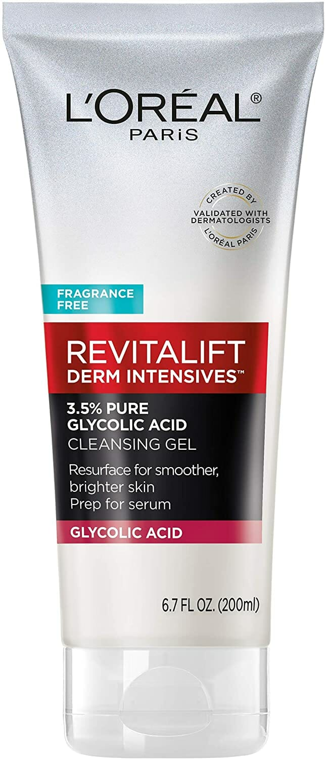 3.5% Pure Glycolic Acid Cleansing Gel by L'Oreal Paris Skin Care,