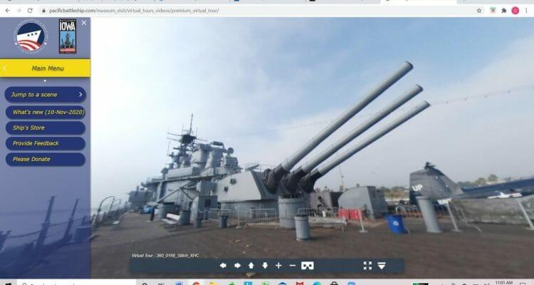 Battleship IOWA Virtual Sessions