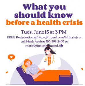 information on health crisis